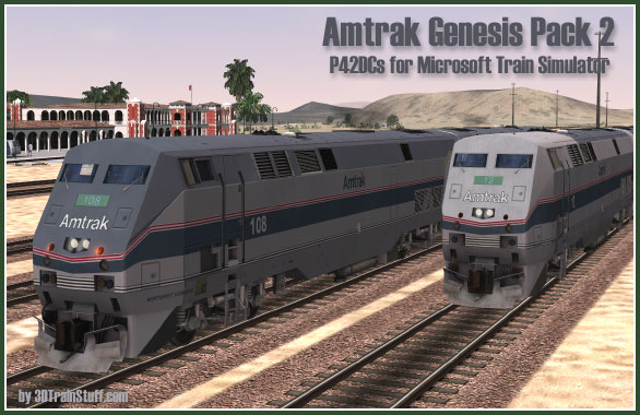 The Amtrak Genesis Pack 2 - Buy it now
